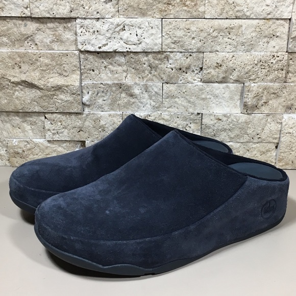 61a943f7d Fitflop Shoes - Fitflop 7 Clog Mule Gogh Supernavy Blue